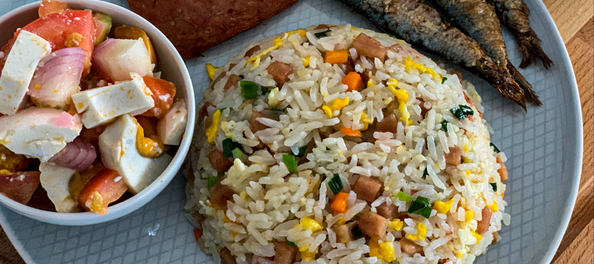 The Secret In Cooking The Perfect SPAM FriedRice
